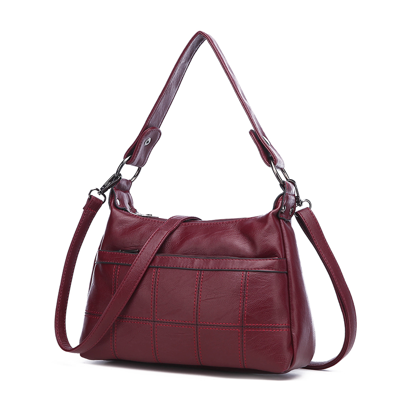 Designer luxury Ladies Plaid Handbags Famous Brand Women Bags 2018 High Quality Leather Shoulder Crossbody Bags Casual Totes Bag цена