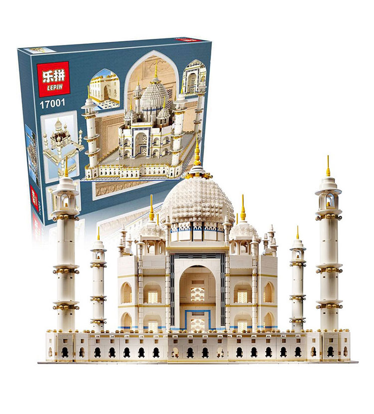 LEPIN 17001 5952pcs The taj mahal Model Building Kits Brick Toys Christmas Gift Compatible legoed 10189 lepin 22001 pirate ship imperial warships model building block briks toys gift 1717pcs compatible legoed 10210