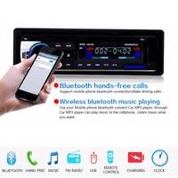 Autoradio Car FM Radio MP3 player 12V Bluetooth Car Audio Stereo player In dash 1 Din FM Aux Input Receiver SD USB MMC WMA