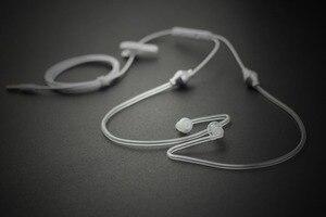 Image 3 - FBI 스타일 이어폰 (마이크 포함) 방사선 보호 이어폰 모니터 이어폰 에어 덕트 이어 버드 이어폰