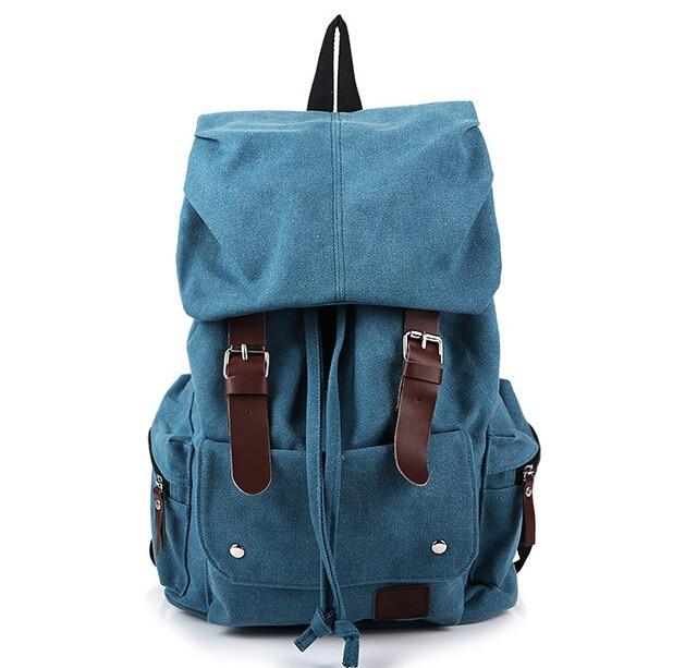 ETN BAG brand high quality men canvas backpack male big travel backpack man casual travel student school bag leisure bag