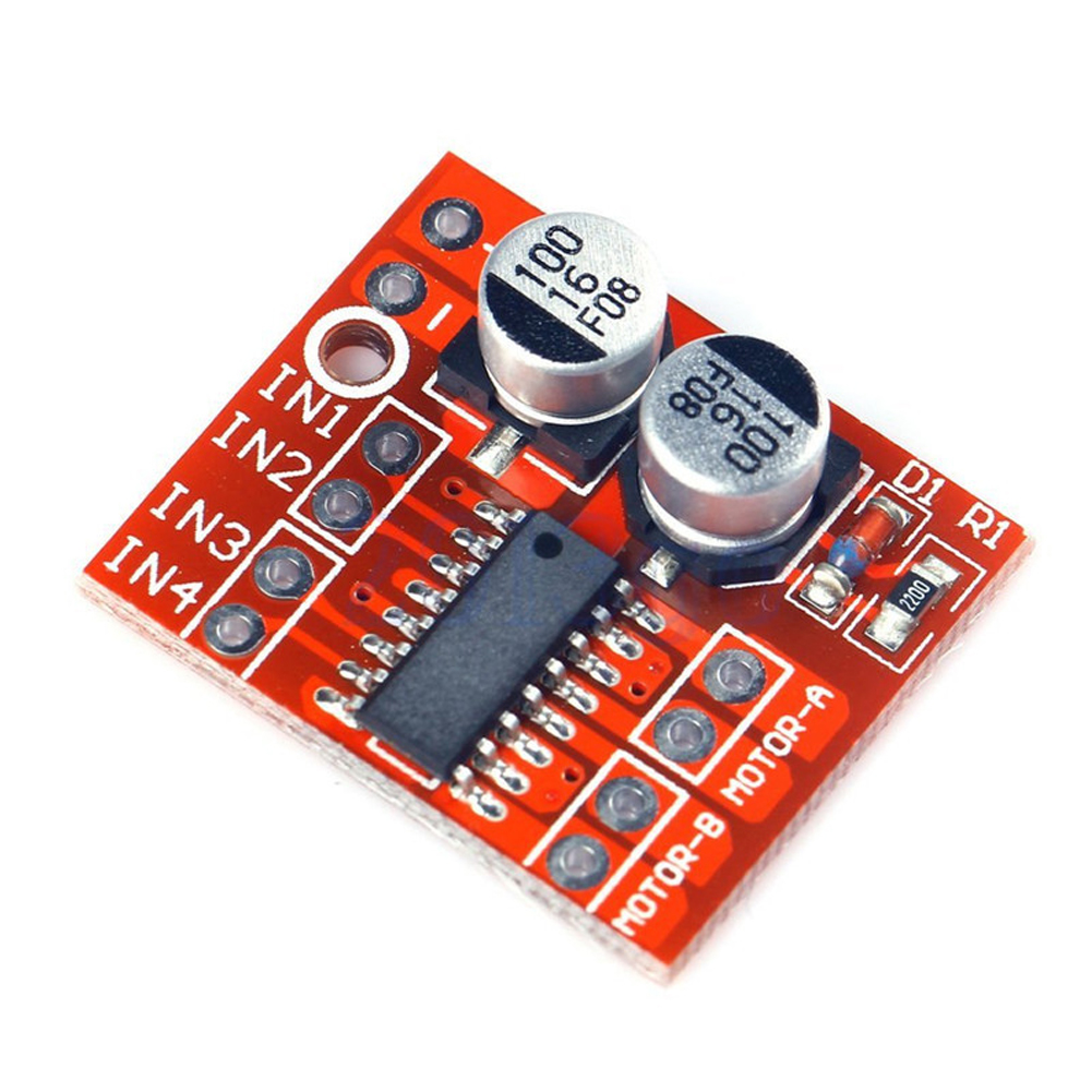 Toys Adjustable Hobbies Switch Module Regulator Controller Speed DC Motor 10V 1.5A DIY Dual H-Bridge