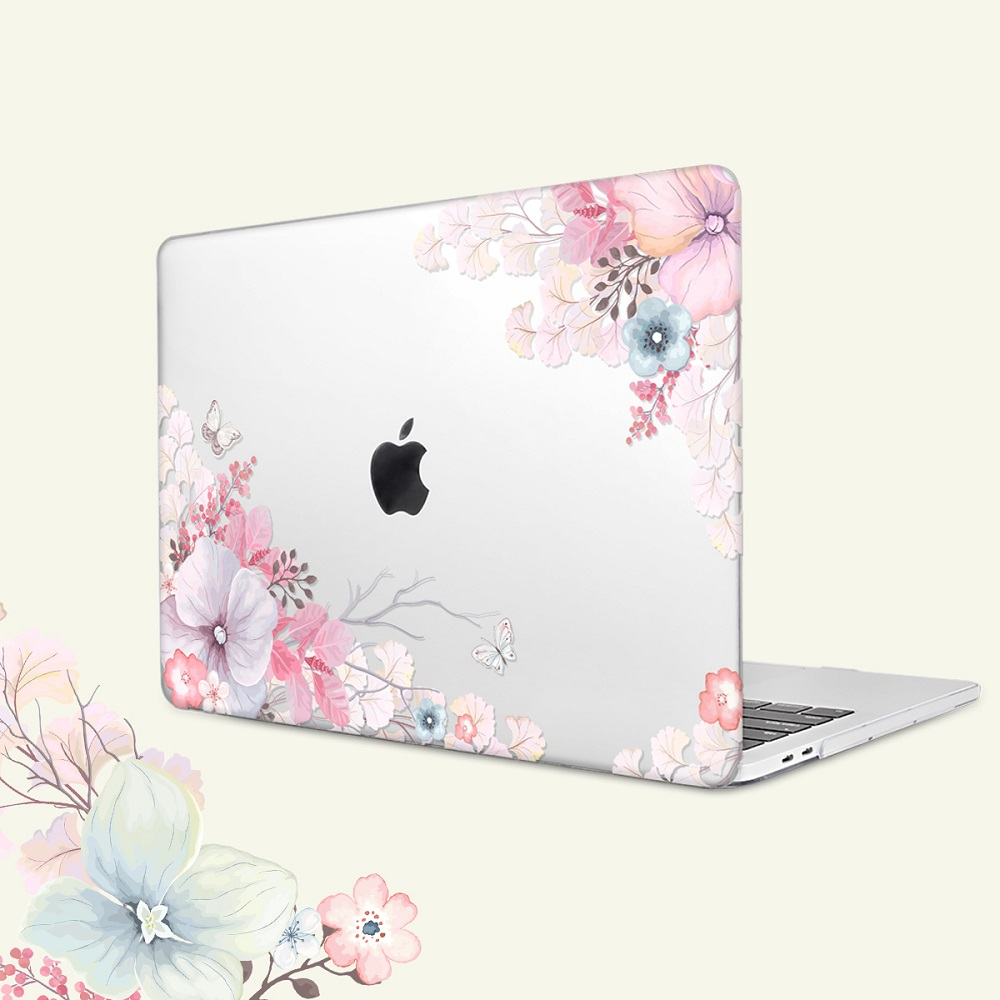 Floral Printing Hard Case for MacBook 112
