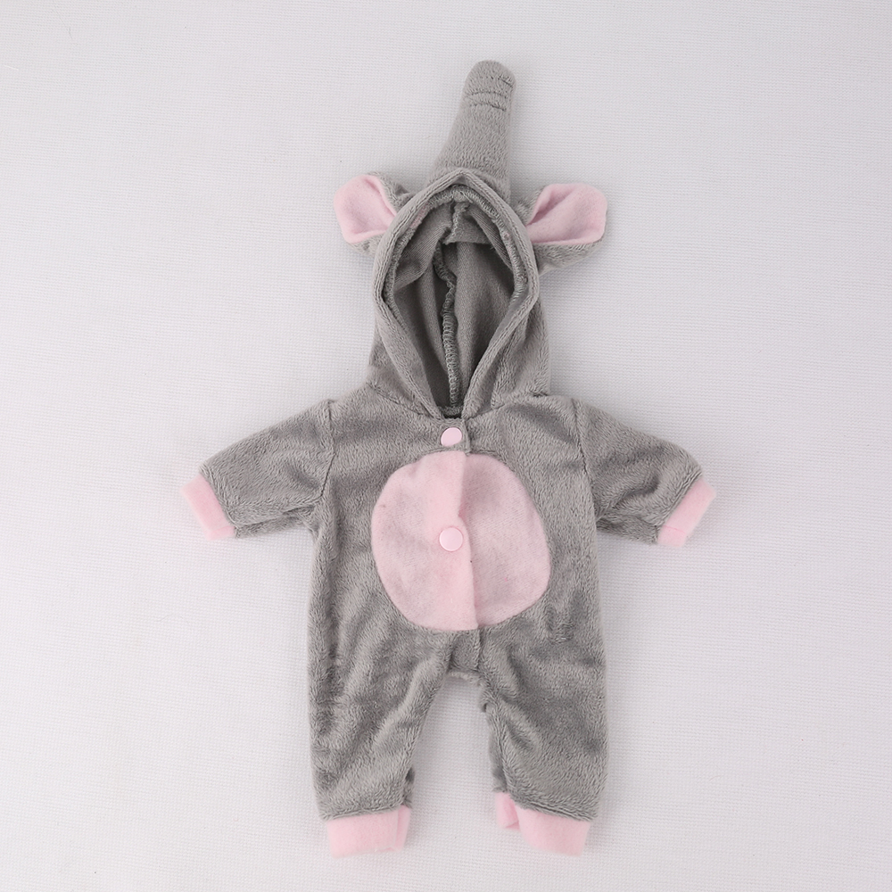 NPKDOLL Mini Reborn Dolls Clothes outfits reborn baby doll Lifelike silicone toys for girls Sleeping girl doll for newborn kids 1