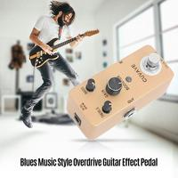 CUVAVE Pure Booster 2 Band EQ Zinc Alloy True Bypass switch Booster Guitar Effect Pedal High Quality Guitar Parts Accessories