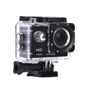 Image 2 - 1080P מיני ספורט פעולה מצלמה לטיפוס רכיבה 2 אינץ LCD מסך 120D ללכת עמיד למים פרו DV DVR וידאו הקלטת קסדת מצלמה