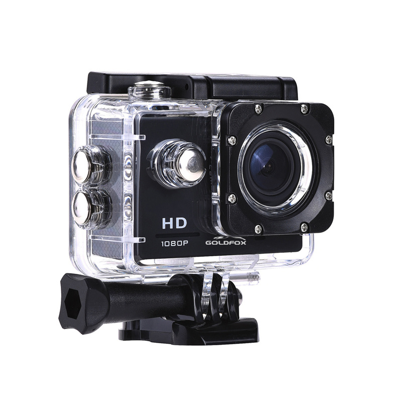 Image 2 - 1080P Mini Sport Action Camera for Climbing Riding 2 inch LCD Screen 120D Go Waterproof pro DV DVR Video Recording Helmet Camera-in Sports & Action Video Camera from Consumer Electronics
