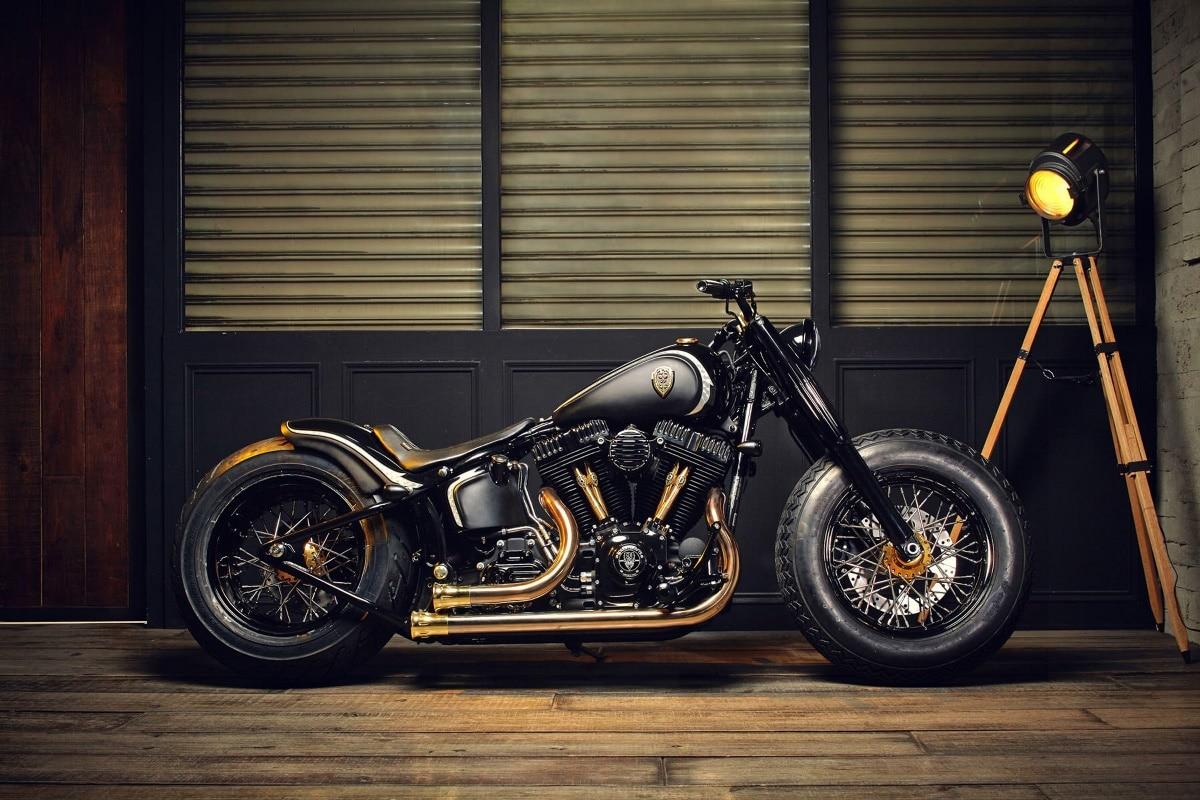 chopper bobber motorrad custom bike motorrad hot rod stangen ka270 wohnzimmer home wand moderne. Black Bedroom Furniture Sets. Home Design Ideas