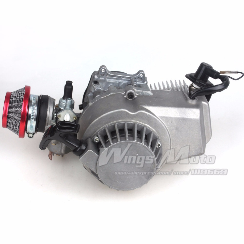47cc 2 Stroke Engine Motor Pocket Mini Bike Scooter Atv 7t