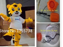 2015 fast shipping tiger Mascot Costume Animal Cartoon fancy dress Adult Size