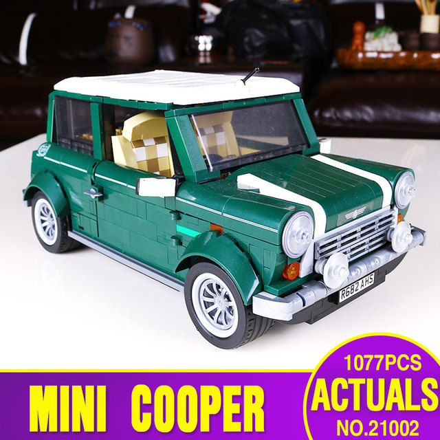 NEW LEPIN 21002 1108pcs compatible Technic series  Cooper MK VII Model Kits Blocks Bricks Toys 10242