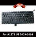 """Испытано Для Macbook Pro 13 """"unibody A1278 клавиатура США Макет США замена клавиатуры 2009-2014"""