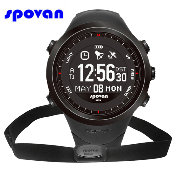 Gps Watch With Heart Rate Monitor No Chest Strap The Best Watch 2018