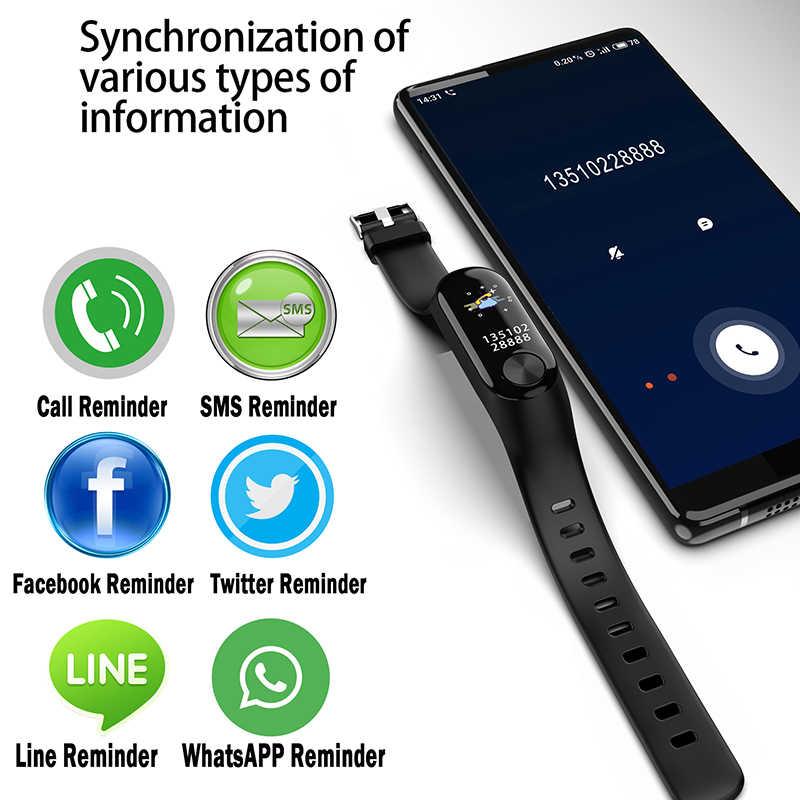New Sport Smart Watch Men Women Bluetooth Digital Watch Waterproof Activity Fitness Tracker Watches Blood Pressure Android ios