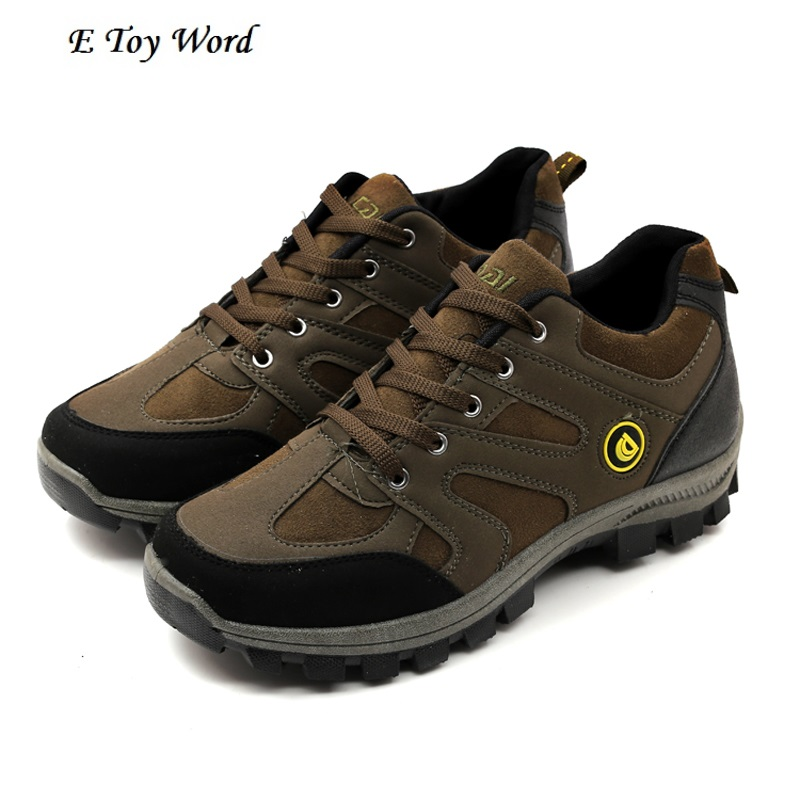 2017spring mens shoes outdoor sport shoes for men for climbing mens boots mountain non-slip men casual shoes
