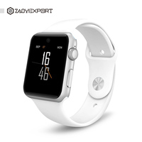 ZAOYIEXPORT DM09 Bluetooth Smart Watch Clock Sync Notifier Support SIM Card Bluetooth For Apple Iphone Android