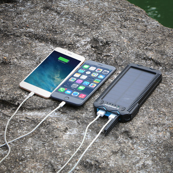 15000mAh Solar Power Bank with Cigarette Lighter  3