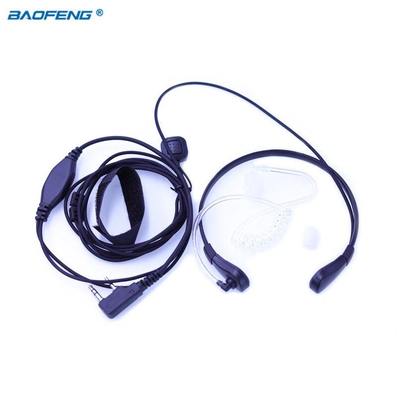 Microfono della gola Baofeng Walkie Talkie Auricolare di Vibrazione Per Portatile Radio BF UV-5R UV-BF-B5 UV-B6 UV-5RE UV-5RA