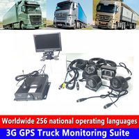 Semi trailer/agricultural locomotive/bus 3G GPS truck monitoring kit can set recording delay time docking OBD factory wholesale