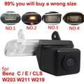 Для CCD Mercedes Benz C Class W203 E-класса W211 CLS Class W219 300 автомобиля Обратный камера заднего вида назад до