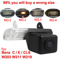 For CCD Mercedes Benz C Class W203 E Class W211 CLS Class W219 300 car Reverse rear view camera back up