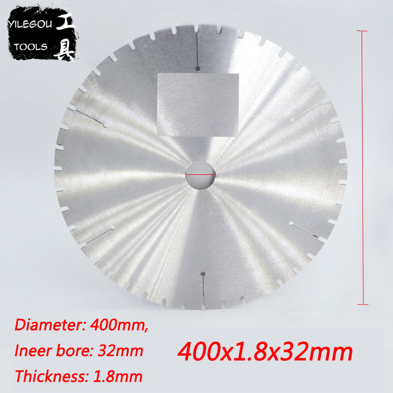 400mm Circular Saw Blades Cutting Stainless Steel Pipes 400*1.8*32mm Saw Blades Cutting Metal, Inner Bore 32mm