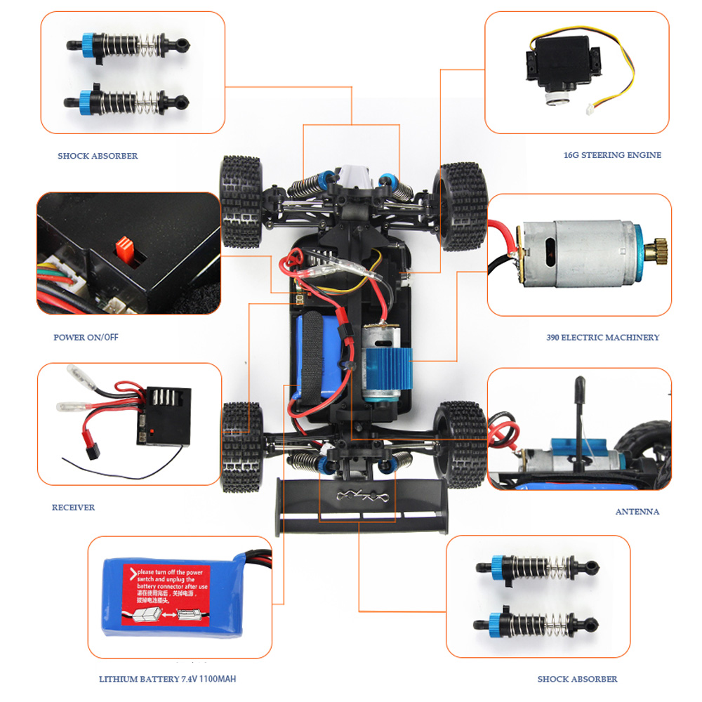 Lynrc-A959-RC-Car-24G-Radio-Remote-Control-Model-Scale-118-Rally-Shockproof-Rubber-wheels-Buggy-Highspeed-Off-Road-5