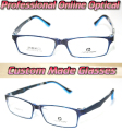 full rim Blue Sapphire styles Optical Custom made optical lenses Reading glasses +1 +1.5 +2+2.5 +3 +3.5 +4 +4.5 +5 +5.5 +6