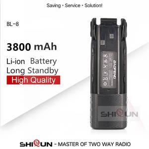 Battery UV-82WX Uv82-Plus 3800mah Uv 82 BL-8 Camo 2pcs Baofeng for Uv82-plus/Uv-8d/Uv-82wx/Uv-89