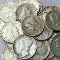 90 Silver Mercury Head Dimes Full Set 1916 1945 D S P 80pcs Dates Nice Quality