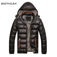 BSETHLRA 2017 Winter Jackets Men Hot Sale New Mens Jackets And Coats Thick Windbreaken Cotton Solid