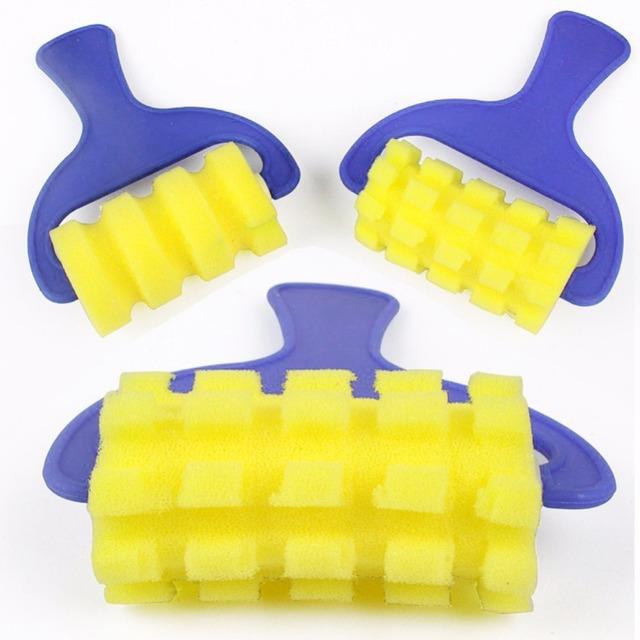 Yellow Sponge Brushes