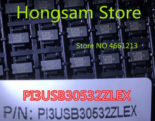 5PCS 10PCS original new PI3USB30532ZLE P13USB30532ZLE PI3USB 30532ZLE P13USB 30532ZLE