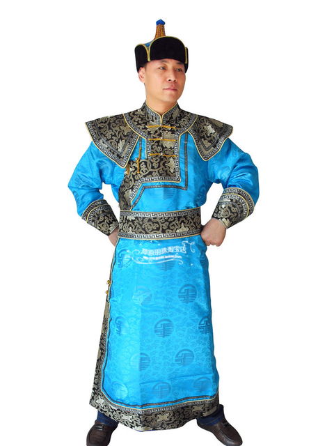 Mongolian Prince costume Male costume dance performance clothes robe men s  clothing mongolian national male gown ccc8bfdc6