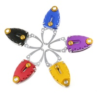 Deluxe Stainless Steel Mini Fish Lip Grip Gripper Fishing Grabber Grips Fishing Tackle Fishing Tools