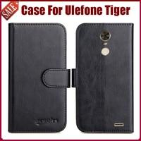 Heißer! Ulefone Tiger Fall Neue Ankunft 6 Farben Hohe Qualität Flip Leder Schutz Telefon Fall Für Ulefone Tiger Abdeckung