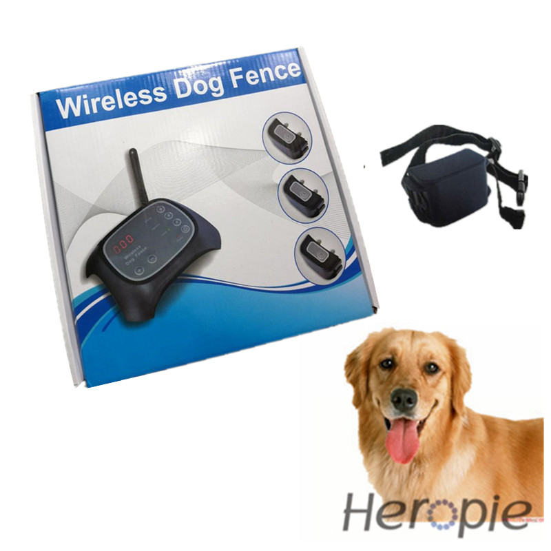 wireless dog fence heropie upgrade remote pet collar trainer 29113