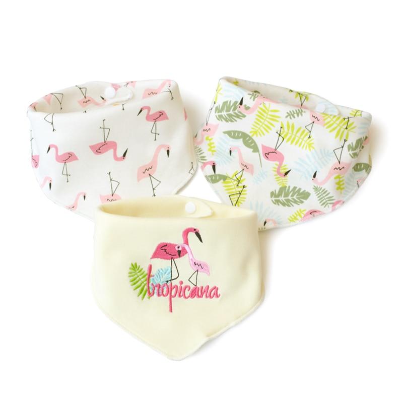 0b84d1c240132 Detail Feedback Questions about 3pcs Flamingo baby bibs owl brup cloth  Cotton Newborn Bib for Girls Boy Babador Baby Feeding baberos bavoir  slabbetjes ...