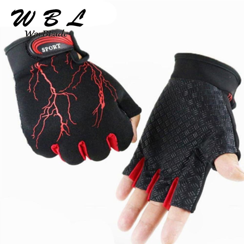 2019 Fashion Gloves Half-finger Mittens Fingerless Gloves For Men Women Exercise Luva Tatica Guantes WarBLade