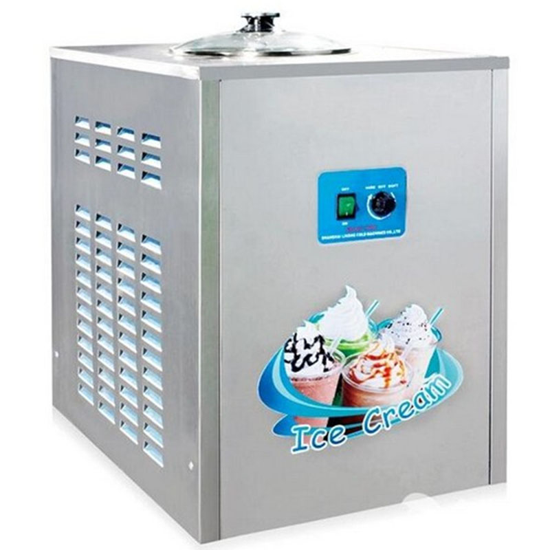 BQL-12Y Commercial Fried Ice cream Machine 12L/h In Acciaio Inox Ice Cream Maker 1360w 220 V/50Hz 1pc цена 2017
