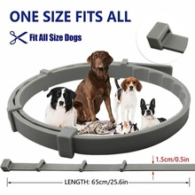 Dewel collar for dogs against ticks fleas and lice outdoor collars  dogs for pets of long-term protection accessories for dogs music for dogs