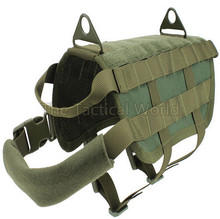 Army Airsoft Tactical Military Molle Combat Patrol K9 Dog Training Harness Law Enforcement Dog Vest Hunting  Airsoftsports Gear 2017 fma tactical skirmish airsoft ballistic helmet with 1 1 protecting pat molle gear military hunting combat tb1010 bk