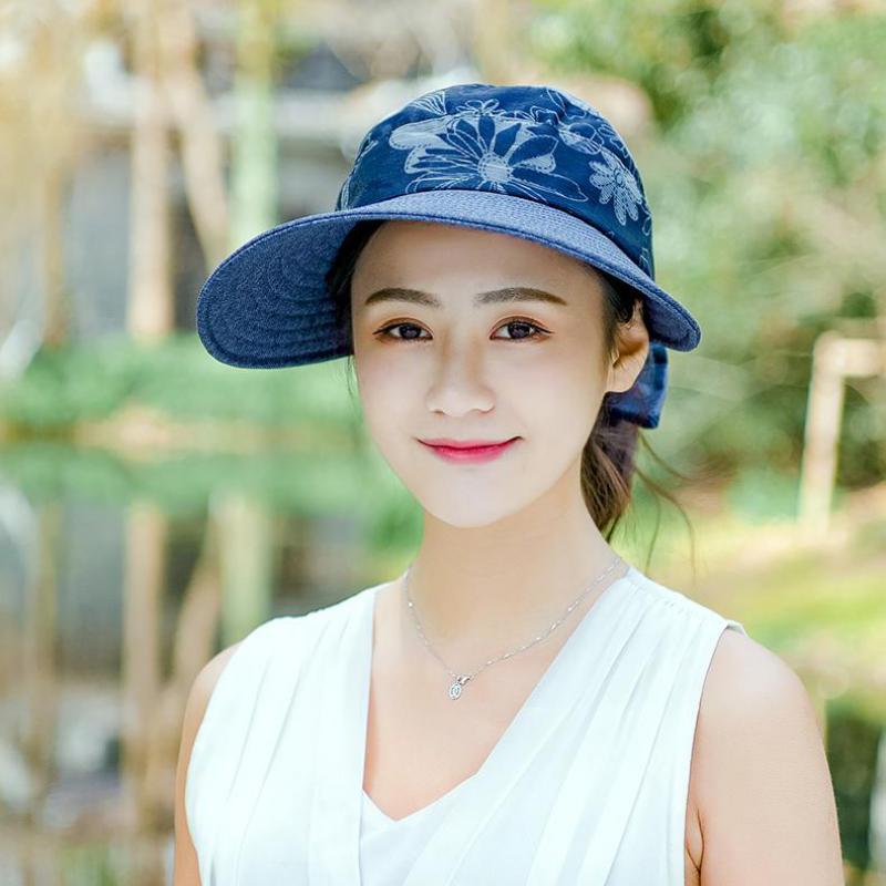 6b1d41391ed COKK Summer Hats For Women Chapeau Femme Large Wide Brimmed Folding Sun Hat  Female Travel Outdoor Visor Cap Suncreen Sunhat-in Sun Hats from Apparel ...