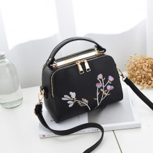 SUONAYI High Quality PU Leather Women handbag Small Bag Female Shoulder Fashion Bags