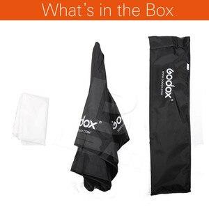 Image 2 - 120 cm/47in Godox Taşınabilir Sekizgen Softbox Şemsiye Speedlight Flaş için Brolly Reflektör