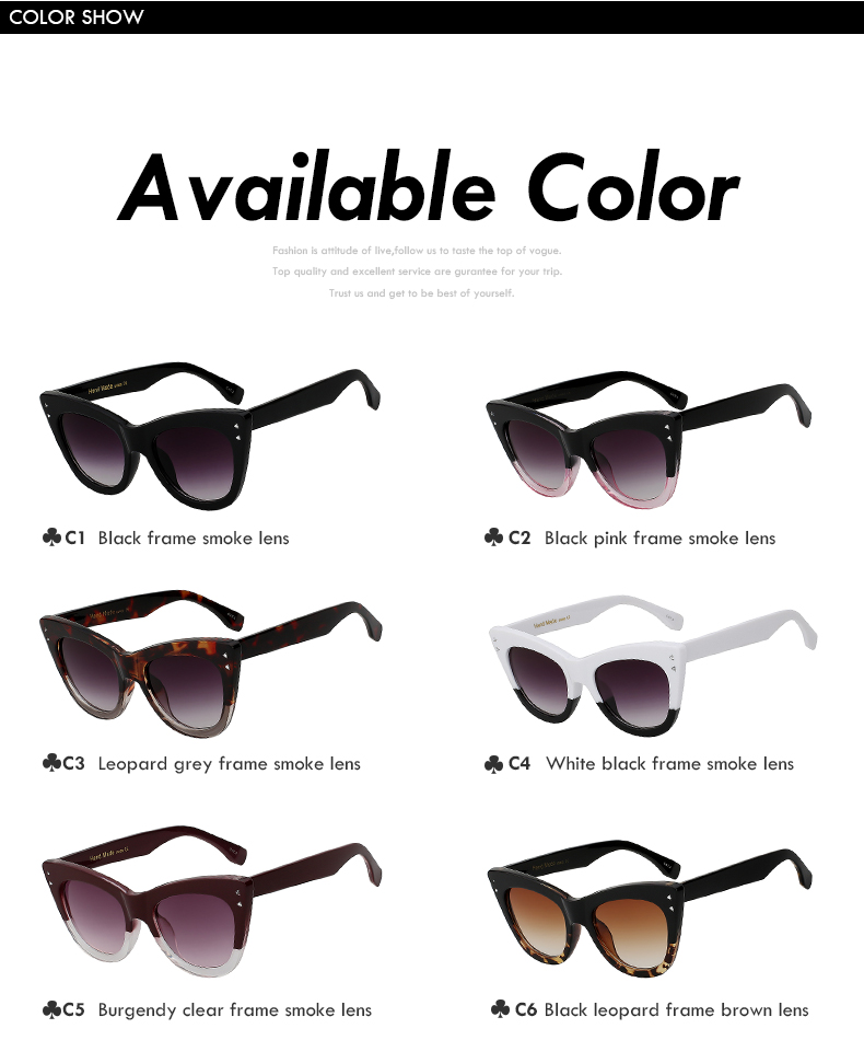2018 New Butterfly Sunglasses