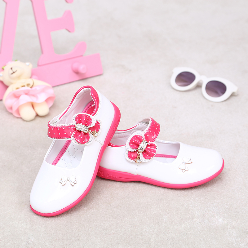 PDEP-Pretty-Platform-White-PU-Leather-Shoes-Flower-Girl-Shoes-Wedding-Pink-Dress-Shoes-ChildrenS-Footwear-For-Girls-Spring-2