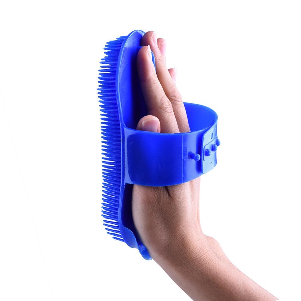 New arrival Horse Massage Brush Promotion Cheap Plastic Brush Horse Hair Bristles Shoe Polish Buffing Massage Care Clean Wax  5