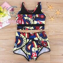 CATTLEYA 2016 Set Sexy Bikini Cintura Alta Top Beach Bathing Swim Suit Push Up Swimwear Plus Size Bikinis Maillot De Ba CQ 17012