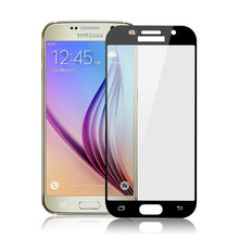 9H Color for Samsung Galaxy J3 J5 J7 Eurasian Version A5 A7 A3 2017 A320 A520 A520F A720 Full Coverage Screen Protector Glass(China)